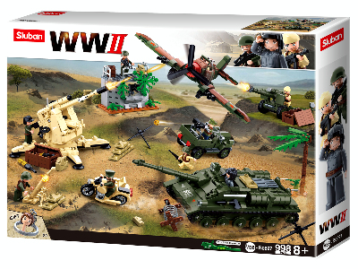 WW2 BATTLE OF KURSK 998pc
