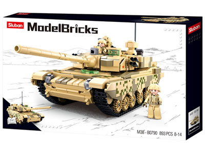 MAIN BATTLE TANK 893pcs