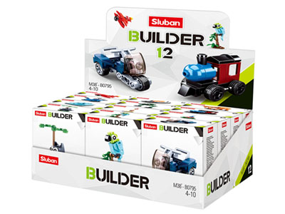 BUILDER MIXED DESIGNS DISP(12)
