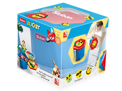 BRICKS BUCKET BOYS 334pcs