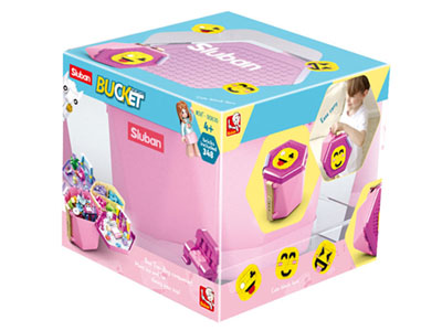 BRICKS BUCKET GIRLS 348pcs