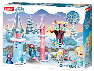 FAIRY TALES SNOW SWING 135pcs