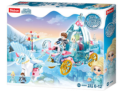 FAIRY TALES CARRIAGE 191pcs