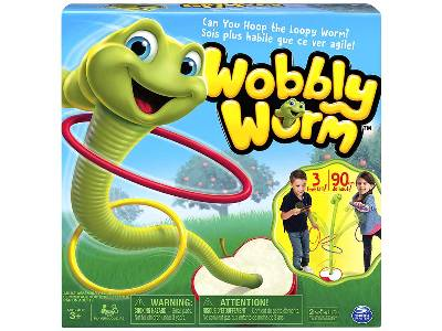 WOBBLY WORM GAME **TV**