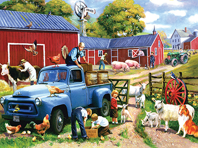 SPRING FARM DAYS 1000pc