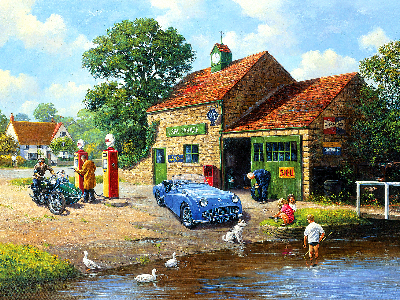 THE VILLAGE PUMPS 1000pc