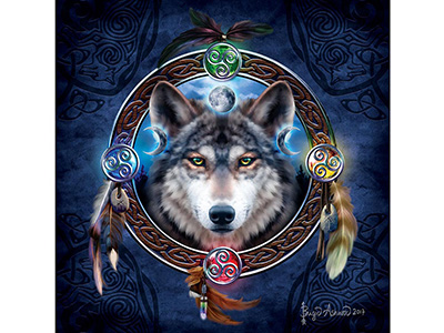 CELTIC WOLF GUIDE 1000pc