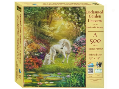 ENCHANTED GARDEN UNICORNS 500p