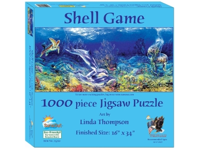 SHELL GAME 1000pc