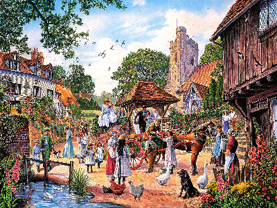 VILLAGE WEDDING 1000pc