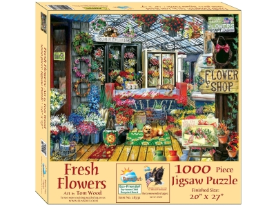 FRESH CUT FLOWERS 1000pc