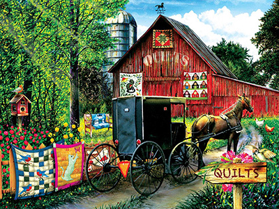 AMISH QUILT SALE 1000pc
