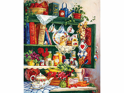 GRANDMA'S CUPBOARD 1000pc