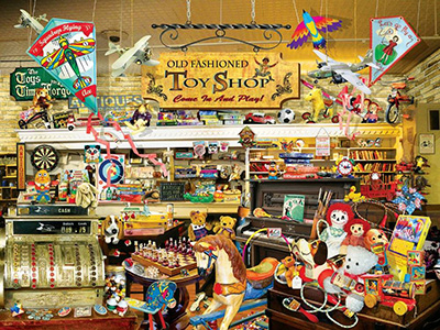 OLD FASHIONED TOYSHOP 1000pcXL