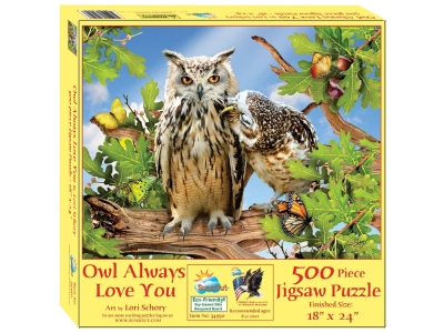 OWL ALWAYS LOVE YOU 500pc