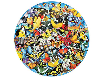 BUTTERFLIES IN THE ROUND 1000p
