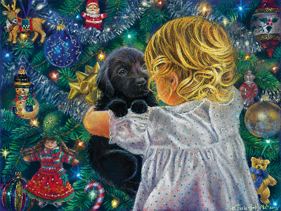 PUPPY FOR CHRISTMAS 500pc