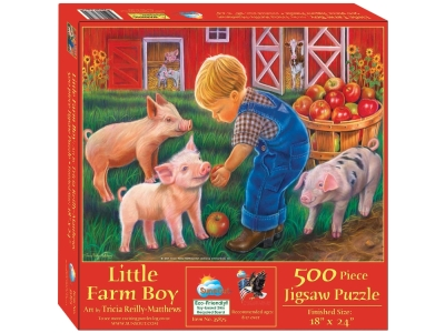 LITTLE FARM BOY 500pc