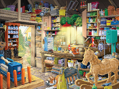 PAPA'S TOOL SHED 550pc