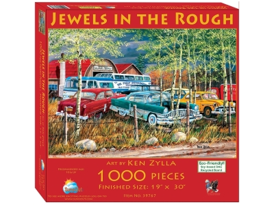JEWELS IN THE ROUGH 1000pc