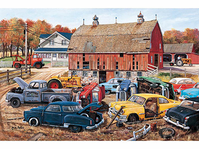 BARNYARD GEMS 1000pc