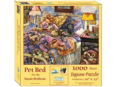 PET BED 1000pc