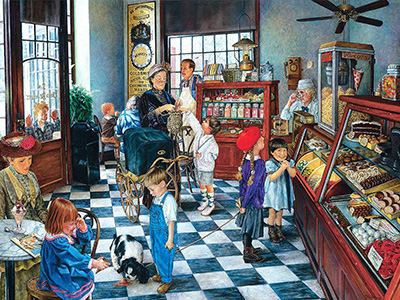 CONFECTIONARY SHOP 1000pc