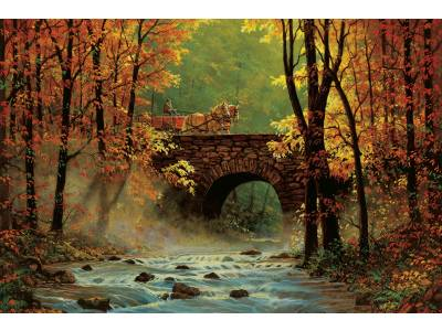 AUTUMN BRIDGE 1500pc