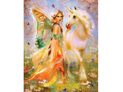 FAIRY PRINCESS & UNICORN 1000p