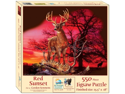 RED SUNSET 550pc