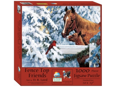 FENCE TOP FRIENDS 1000pc
