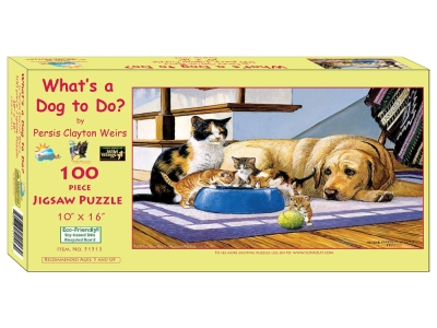 WHAT'S A DOG TO DO? 100pc