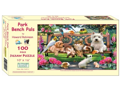 PARK BENCH PALS 100pc