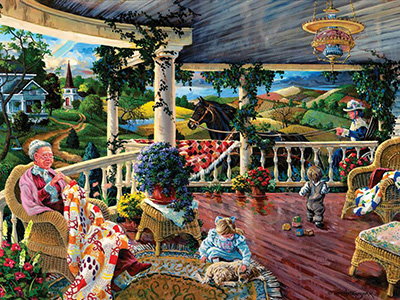 AFTERNOON WITH GRANDMA 1000pc