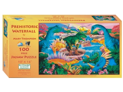 PREHISTORIC WATERFALL 100pc