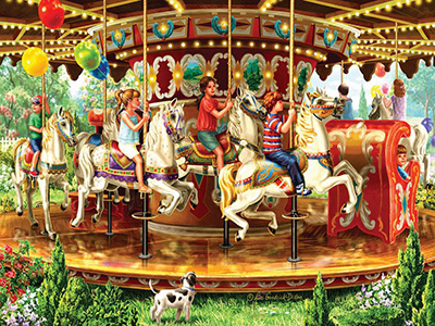 CAROUSEL RIDE 1000pc