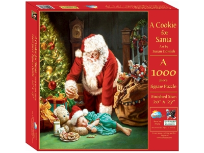 A COOKIE FOR SANTA 1000pc