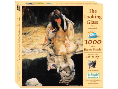 THE LOOKING GLASS 1000pc