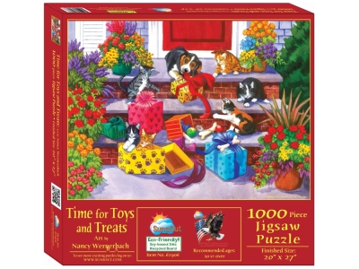 TIME FOR TOYS & TREATS 1000pc
