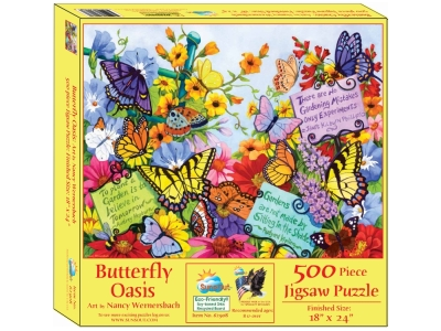 BUTTERFLY OASIS 500pc