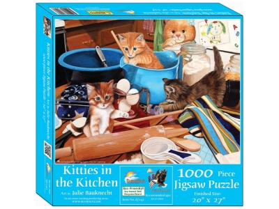 KITTIES IN THE KITCHEN 1000pc
