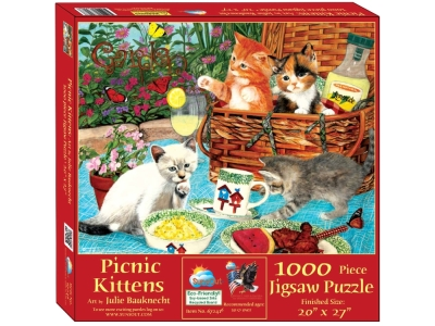 PICNIC KITTENS 1000pc