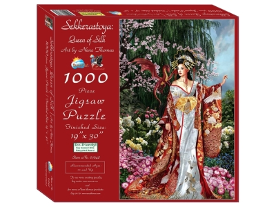 QUEEN OF SILK 1000pc