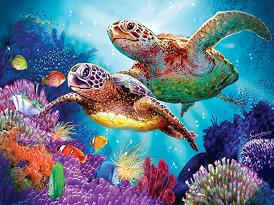 TURTLE GUARDIAN 1000pc
