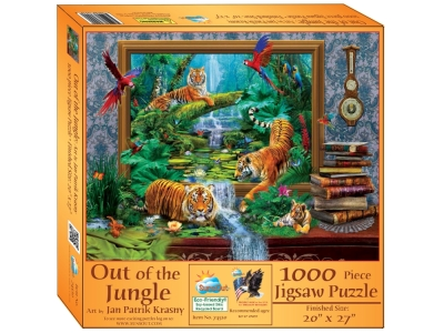OUT OF THE JUNGLE 1000pc