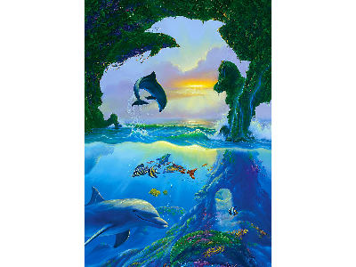 7 DOLPHINS 1000pc