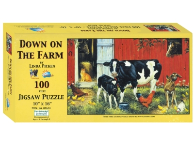 DOWN ON THE FARM 100pc