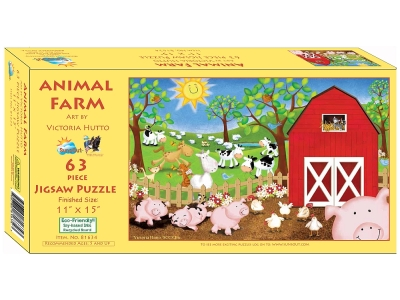 ANIMAL FARM 63pc