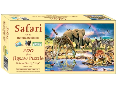 SAFARI 200pc