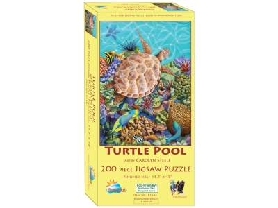 TURTLE POOL 200pc